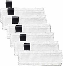 HINOR 6 Pack Microfiber Steam Mop Cloth Pads