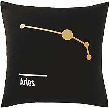 Hippowarehouse Aries Constellation Printed bedroom