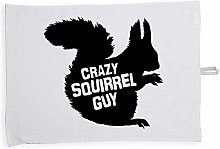 Hippowarehouse Crazy squirrel guy Printed Tea