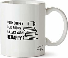 Hippowarehouse Drink Coffee Read Books Collect
