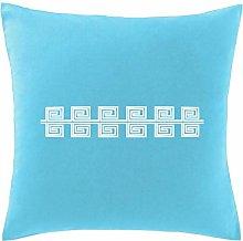Hippowarehouse Greek pattern Printed bedroom