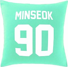 Hippowarehouse Minseok 90 Printed bedroom
