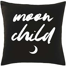 Hippowarehouse Moon Child Printed bedroom accessory cushion cover case 41x41cm