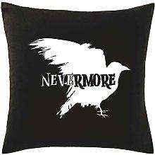Hippowarehouse Nevermore Raven Printed bedroom