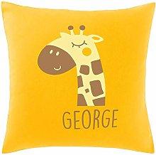 Hippowarehouse PERSONALISED name baby giraffe