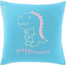 Hippowarehouse Preggosaurus Printed bedroom soft