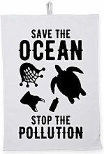 Hippowarehouse Save the ocean stop the pollution