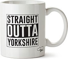 Hippowarehouse Straight Outta Yorkshire Printed