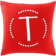 Hippowarehouse T Initial Printed bedroom accessory