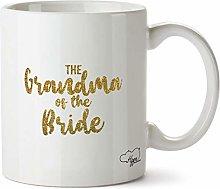 Hippowarehouse The Grandma of The Bride - Gold