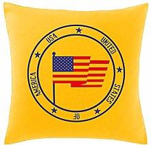 Hippowarehouse USA Flag Printed bedroom accessory