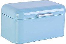Hiqusc Vintage Retro Bread Bin Metal Bread Box for