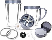 HIRALIY Deluxe Accessory Kit for NutriBullet, Cups