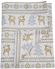 Hiram Nordic Tablecloth Union Rustic Colour: