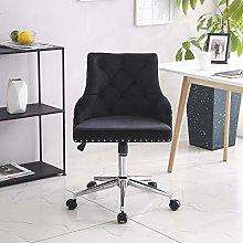 Hironpal Black Fabric Office Chair Ergonomic