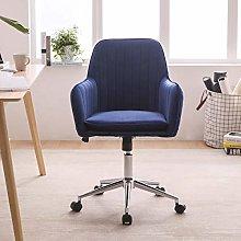 Hironpal Blue Crushed Velvet Fabric Home Office