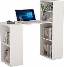 Hironpal Computer Desk with 4 Tier Storage