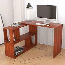 Hironpal Corner Computer Desk Home Office Desk