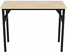 Hironpal Folding Computer Desk Home Office Table