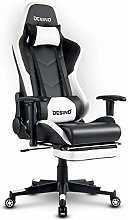 Hironpal Gaming Chair with Footrest Home Office PC