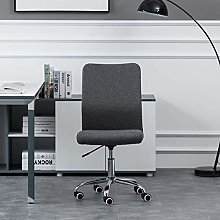 Hironpal Grey Office Chair Fabric Ergonomic Desk