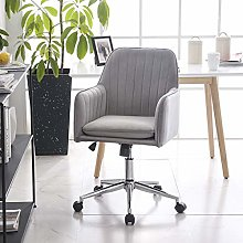 Hironpal Modern Velvet Dining/Office Chair