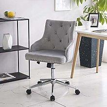 Hironpal Modern Velvet Office Chair Armchair
