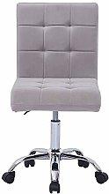 Hironpal Velvet Office Chair Ergonomic Desk Chair