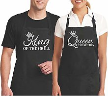 His And Hers Aprons Couples Aprons Matching Aprons