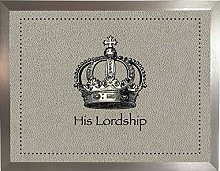 His Lordship Faux 1 Silver: Quality Cushioned Bean
