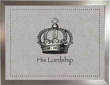 His Lordship Faux 4 Silver: Quality Cushioned Bean