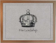 His Lordship Faux 4 Wood: Quality Cushioned Bean