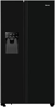 Hisense RS694N4TBF Fridge Freezer - Black