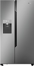 Hisense RS694N4TD1 American Fridge Freezer - Silver