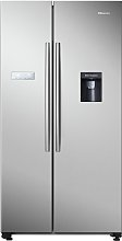 Hisense RS741N4WC11 Fridge Freezer - Silver