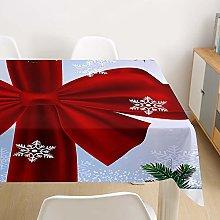 Hiser Christmas Tablecloths Large Rectangular Wipe