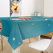 Hiser Easter Egg Table Cloth Wipeable Tablecloth
