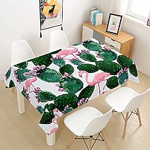 Hiser Tablecloth Rectangular, Waterproof Wipe