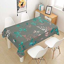 Hiser Tablecloth Waterproof Rectangular Wipe