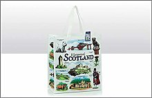 Historical Scotland Reusable Shopping Gift Bag