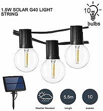 HITECHLIFE G40 Global Solar Light String LED Bulb