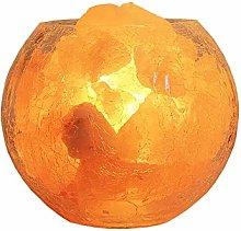 HITECHLIFE Himalayan Crystal Salt Lamp Cracked