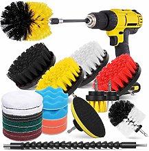 Hiware 23 Pcs Drill Brush Attachment Set for
