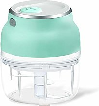 HizoeChu Electric Mini Garlic Chopper Slicer,