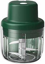 HizoeChu Electric Mini Garlic Chopper Slicer,