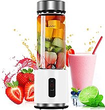 HIZQ Juicer, 380Ml 4000Mah USB Rechargeable