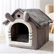 Hjdmcwd Pet Bed Detachable Cat Bed House Kennel