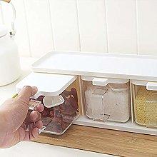 HJFGSAK Seasoning Rack Herb Spices Storage