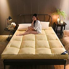 HJGHY Foldable Soft Futon Mattress, Breathable