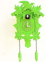 HJGJF Cuckoo Clock Living Room Wall Clock Bird